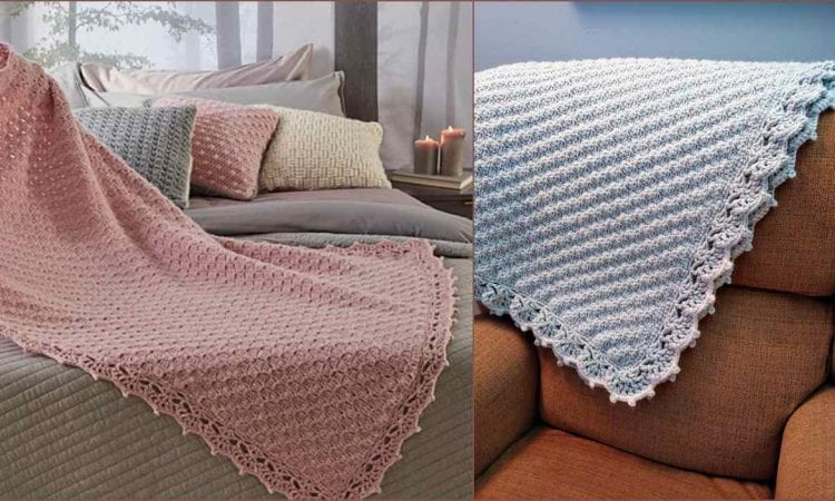 C2C Guest Throw Free Crochet Pattern