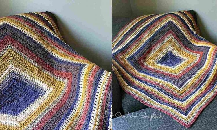 Centaur Mandala Afghan Free Crochet Pattern