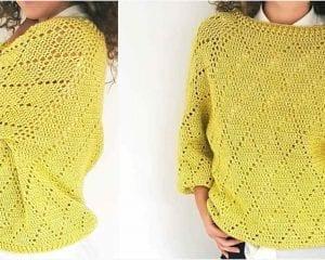 My Precious Sweater Free Crochet Pattern