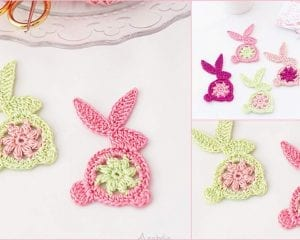 Easter Bunny Ornament Free Crochet Pattern