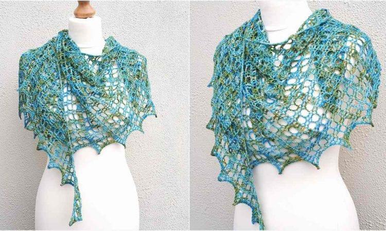 Flora Shawl Free Crochet Pattern
