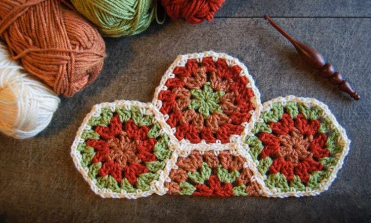 Half Hexagon Free Crochet Pattern