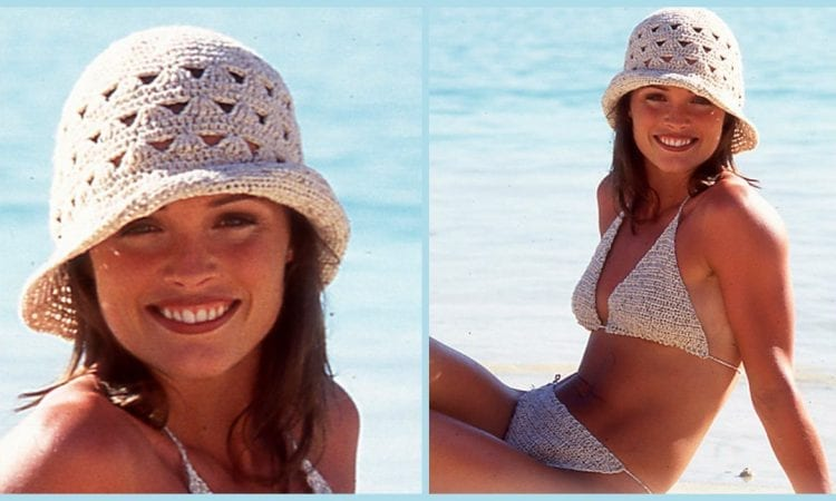 Summer Hat and Bikini Free Crochet Pattern