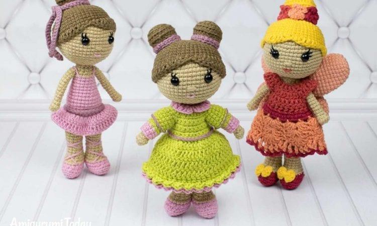 Little Lady Doll Free Crochet Pattern