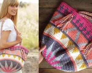 Market Day Bag Free Crochet Pattern