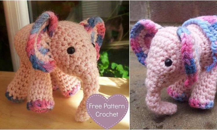 MeiMei Baby Elephant Free Crochet Pattern