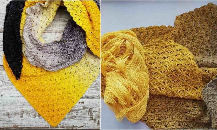 My Voyage Shawl Free Crochet Pattern