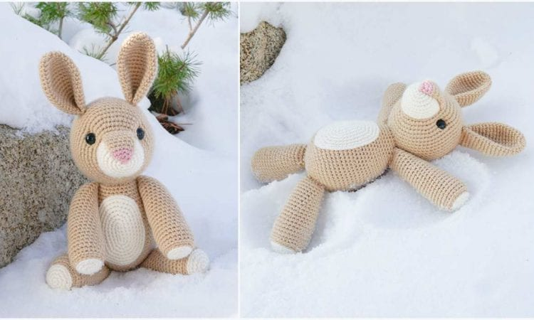 Rose the Rabbit Free Crochet Pattern