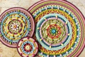 Trinity Mandalas Free Crochet Pattern