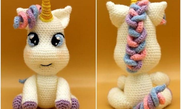 Baby Unicorn Free Crochet Pattern