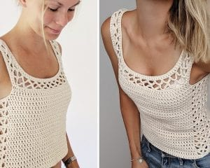 Aestas Top Free Crochet Pattern