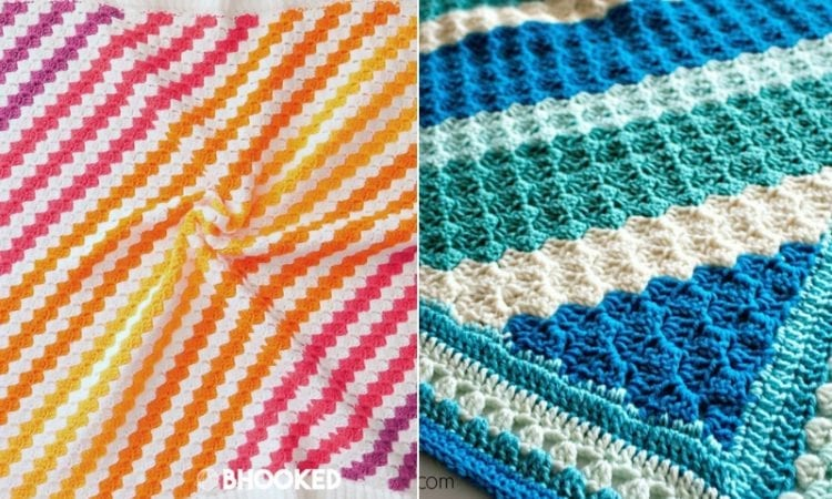 Great C2C Baby Blankets Free Crochet Patterns | Your Crochet
