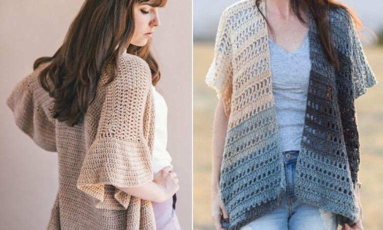Summer Crochet Kimono Cardigans Free Patterns Your Crochet
