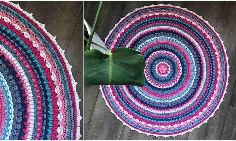 Aziza Mandala CAL Free Crochet Pattern