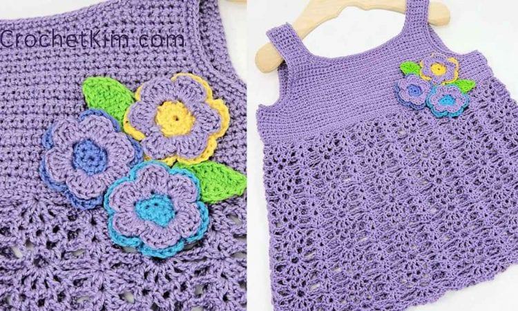 Bouquet Baby Top Free Crochet Pattern