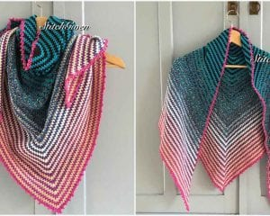 Cakes Two To Tango Shawl Free Crochet Pattern