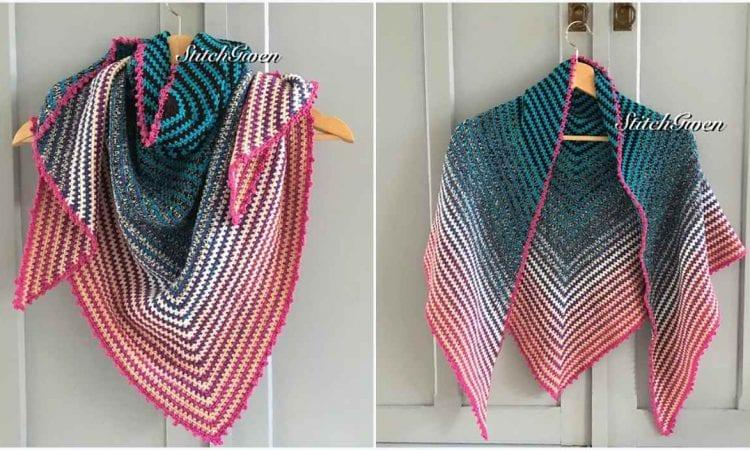Cakes Two To Tango Shawl Free Crochet Pattern
