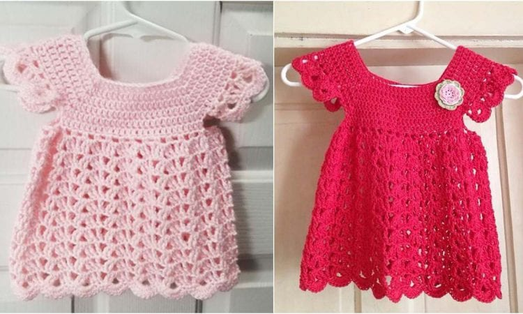 Angel Pop Over Dress Free Crochet Pattern