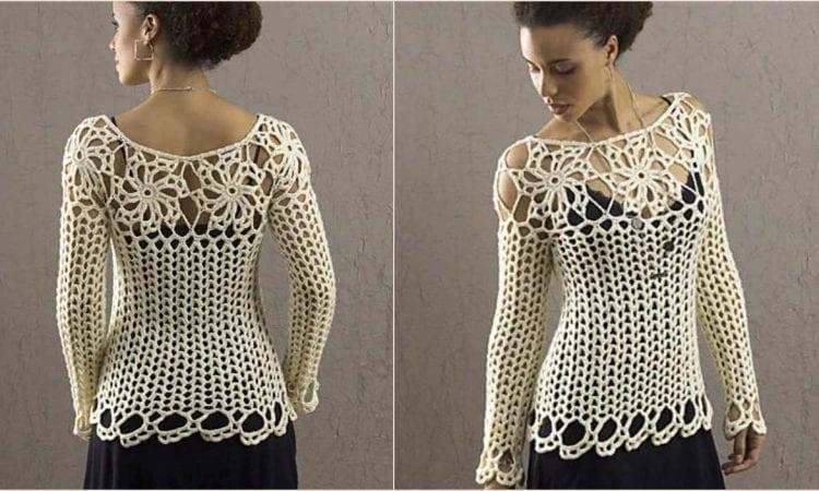 Avalon Top Free Crochet Pattern