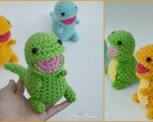 Baby Dinosaurs Free Crochet Pattern
