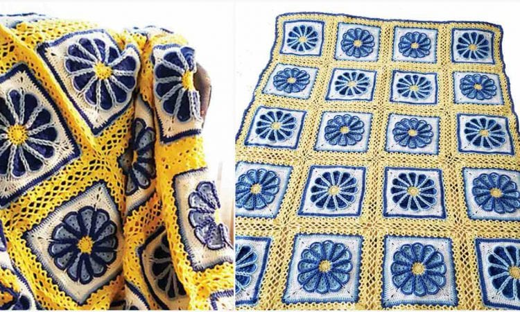 Celtic Dream Lace Afghan Free Crochet Pattern