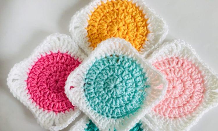 Circle Granny Square Free Crochet Pattern Your Crochet