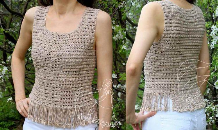 Lorica Sericum Top Free Crochet Pattern