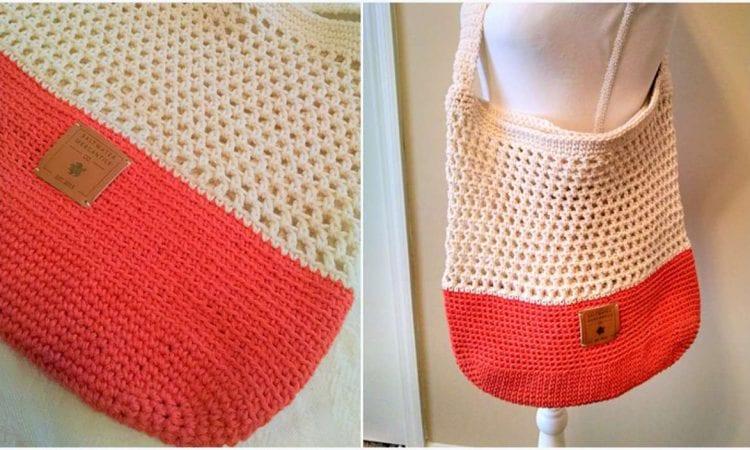 Market Bag Free Crochet Pattern