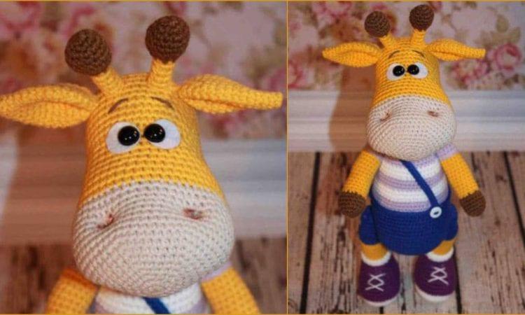 Naughty Giraffe Free Crochet Pattern
