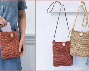 Passport Pouch Free Crochet Pattern