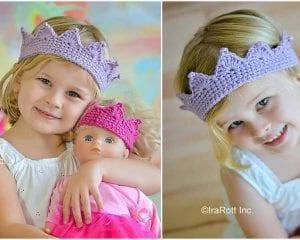 Princess Crown Free Crochet Pattern