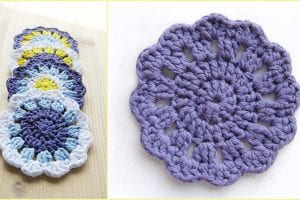 Easy Coasters Free Crochet Pattern
