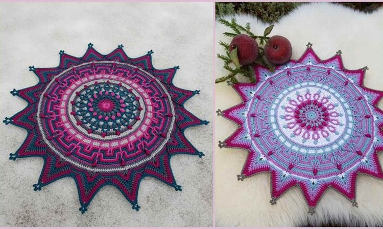 Star of the Forrest Doily Free Crochet Pattern