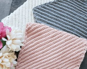 Textured Dishcloth Free Crochet Pattern