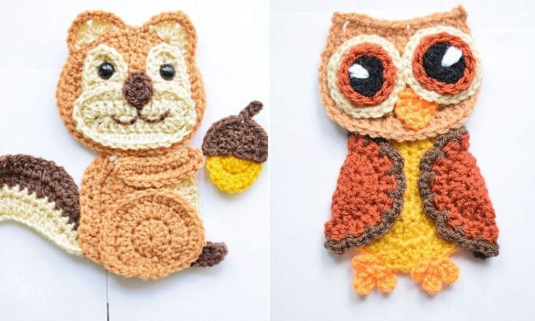 Sweet and easy crochet applique free patterns your crochet