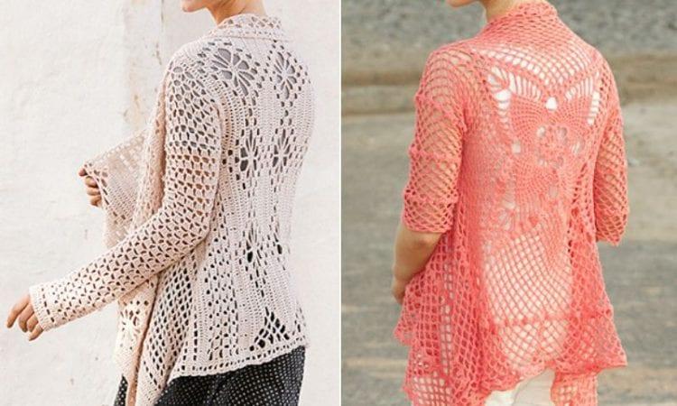 Crochet Lace Cardigans Free Patterns Your Crochet