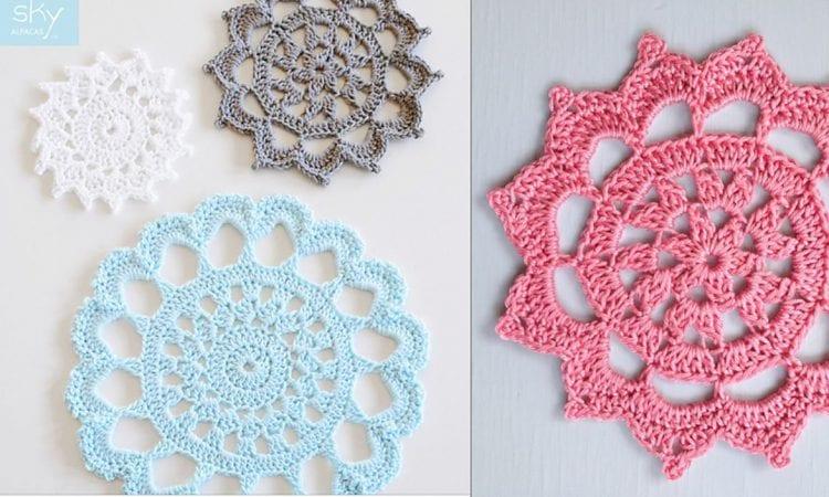 Aunt Aggie's Trivets Coasters Free Crochet Pattern