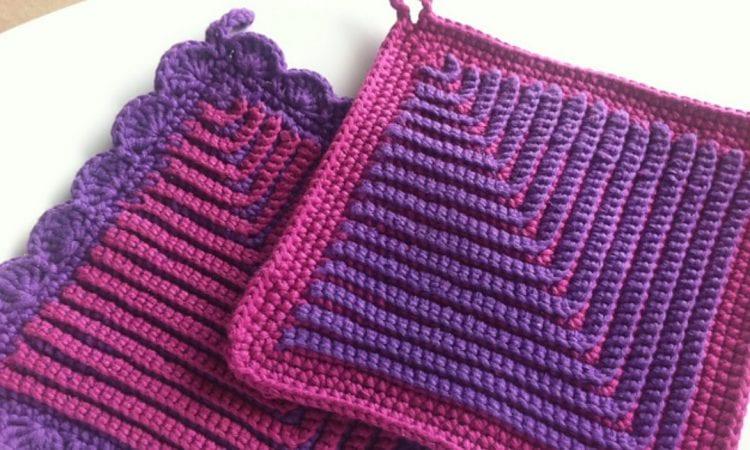 German Potholders Free Crochet Pattern