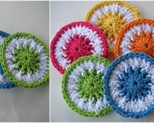 Scrubbie Dots Free Crochet Pattern
