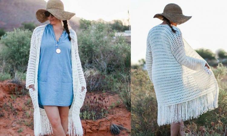 Solstice Sweater Free Crochet Pattern