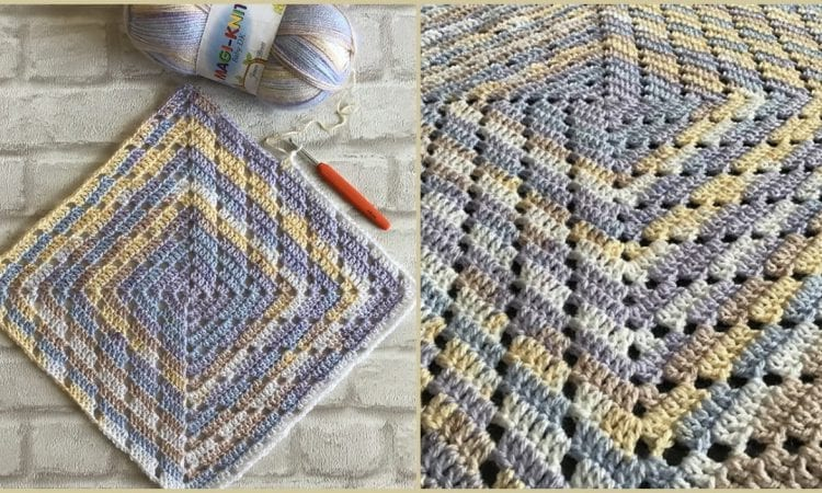 The Fairy Slippers Blanket Free Crochet Pattern
