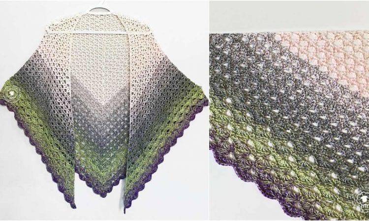 Whysper Wrap Free Crochet Pattern