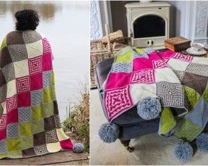 Bolderwood Blanket Free Crochet Pattern