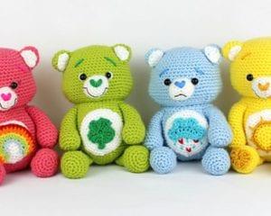 Happy Bears Amigurumi Free Crochet Pattern