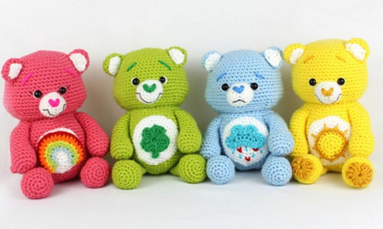 Happy Bears Amigurumi Free Crochet Pattern