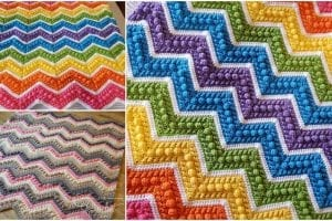 Hugs & Kisses Baby Blanket Free Crochet Pattern