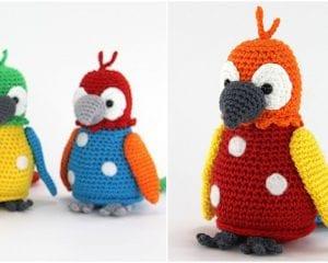 Parrot Pico Free Crochet Pattern