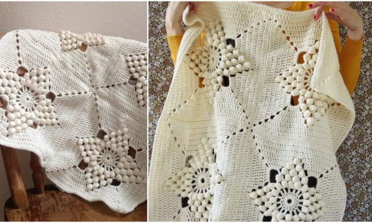 Smitten Blanket Free Crochet Pattern