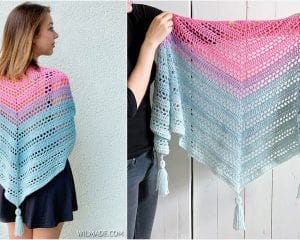 Such Simple Shawl Free Crochet Pattern