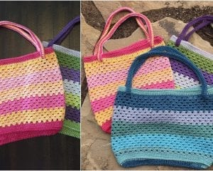 Summer Friendship Tote Free Crochet Pattern